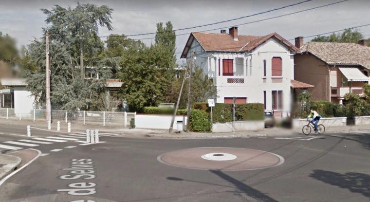 Rond-point du boulevard Irénée-Bonnafous
